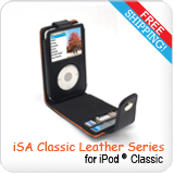 iPod Classic & G5 Leather Case