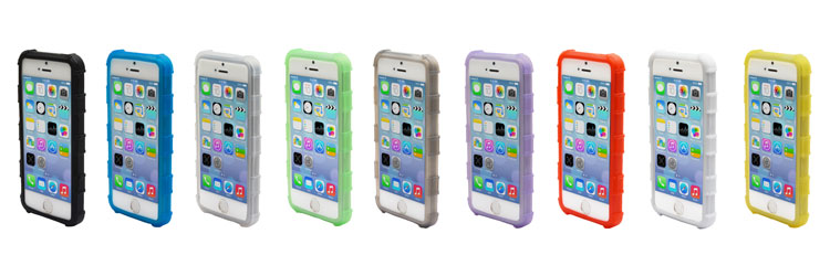 Health Care Grade Ruggedized Silicone Case for iPhone 5S