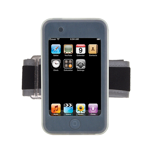 APT1AD Armband Set fits iPod touch(1st Gen.), 8,16 and 32GB; ICE CLEAR